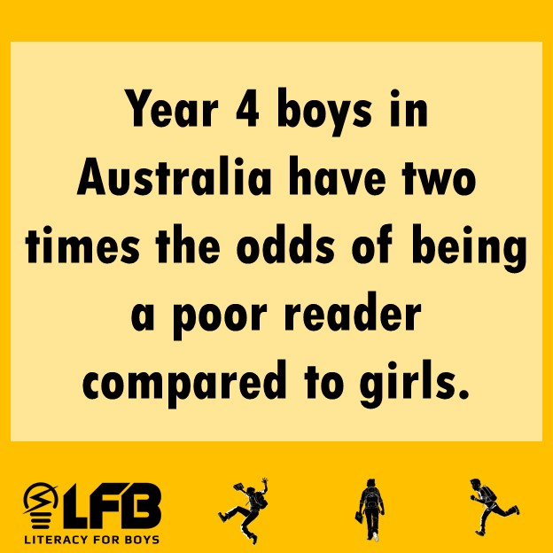 The problem with boys not reading
