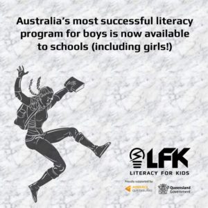 Literacy For Kids now available for schools